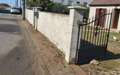 Nettoyage de mur à Beaugency
