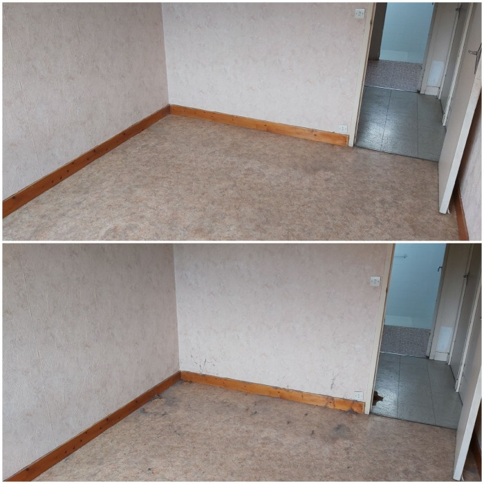 chantier vide maison 45190